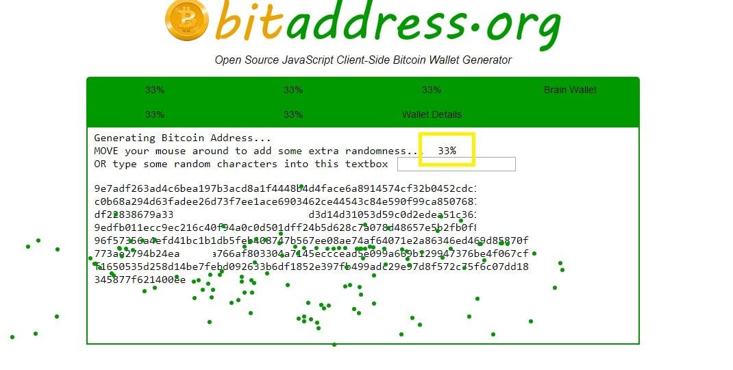 Generowanie papierowego portfela Bitcoin